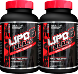 LIPO 6 BLACK ULTRA CONCENTRATE (PACK X 2)