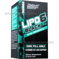 LIPO 6 BLACK HERS NUTREX RESEARCH INC®