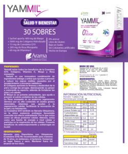 YAMMIL Q10 COLÁGENO ANTIOXIDANTES MAQUI VITAMINA C