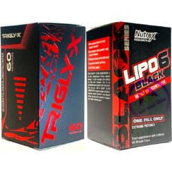 TRIGLY-X® + LIPO 6 BLACK NUTREX RESEARCH INC®