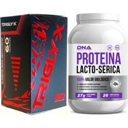 TRIGLY-X® + PROTEÍNA DNA® SUERO DE LECHE 100% VALOR BIOLÓGICO